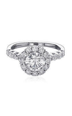 Christopher Designs Crisscut Round Engagement Ring G52-RD100 product image