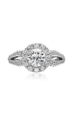 Christopher Designs Crisscut Round Engagement ring G77-RD100 product image