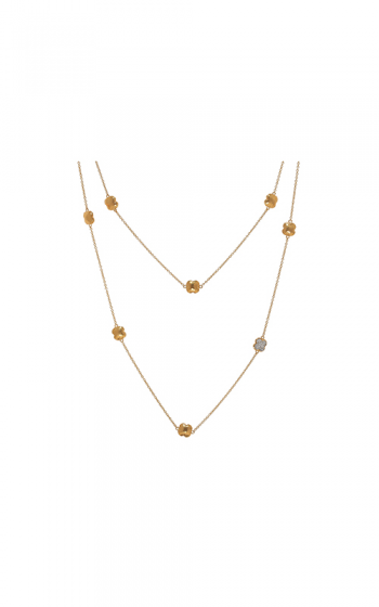 Gurhan 22K Gold Necklace CHN-XPV-YB-L-PLDI-40 product image