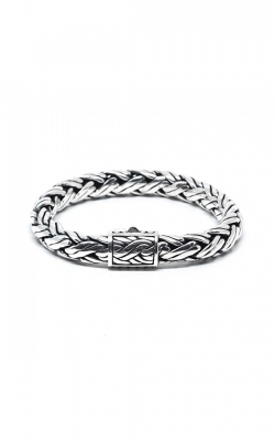 House of Bali Braided Chain Silver Bracelet BCBP900 product image