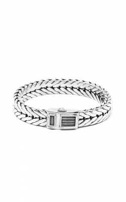 House of Bali Herringbone Chain Silver Bracelet BFTN126 product image