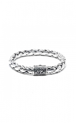 House of Bali Braided Chain Silver Bracelet BSBP690 product image