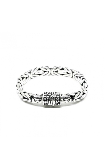 House of Bali Byzantine Chain Silver Bracelet BSHB1074 product image