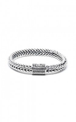 House Of Bali Woven Chain Silver Bracelet BSTL107 product image