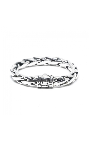 House of Bali Braided Chain Silver Bracelet BTP130 product image