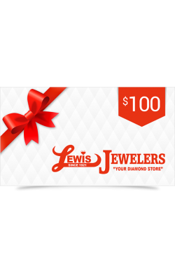 Lewis Jewelers $100 Gift Card product image