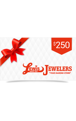 Lewis Jewelers $250 Gift Card product image