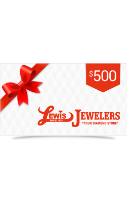 Lewis Jewelers $500 Gift Card product image