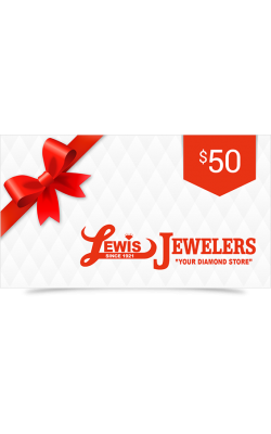 Lewis Jewelers $50 Gift Card product image
