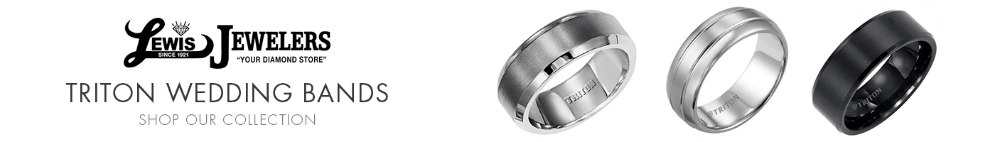 Triton Wedding Bands at Lewis Jewelers