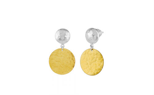 Gurhan Gold and Silver Earrings