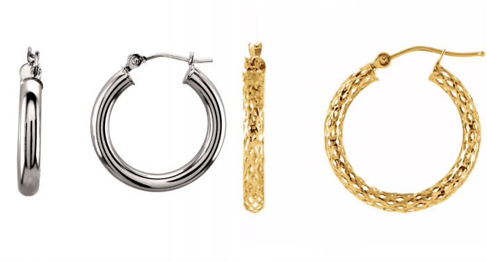 Stuller Hoop Earrings at Lewis Jewelers