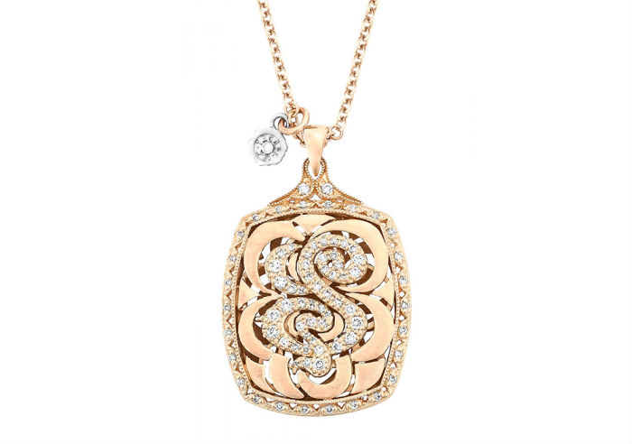 Tacori Monogram Necklace