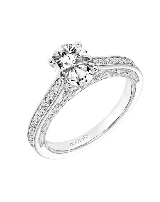 ArtCarved White Gold Engagement Ring